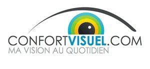 Logo confortivsuel Bio, 3D, pliable dans tous les sens... les dernières tendances du marché des lunettes